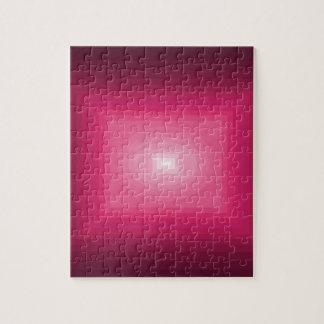 cuadrado rosado rojo del cricketdiane - los 9-9z-9 rompecabeza con fotos