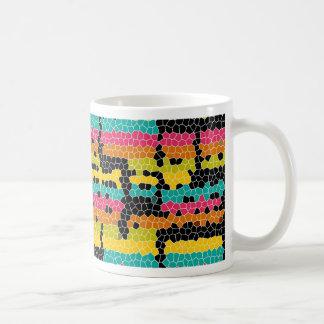 Cuadrado sensacional taza de café