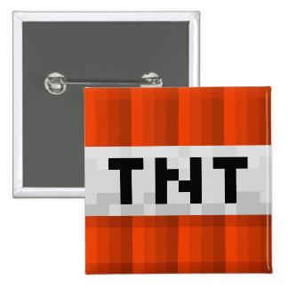 """Cuadrado """"TNT """"del botón Pin Cuadrado"""