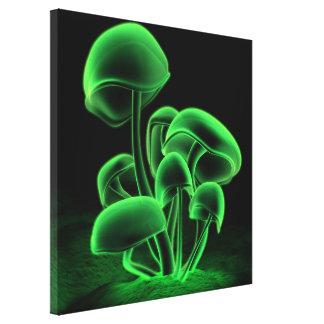 Cuadrado verde de la fluorescencia impresion en lona