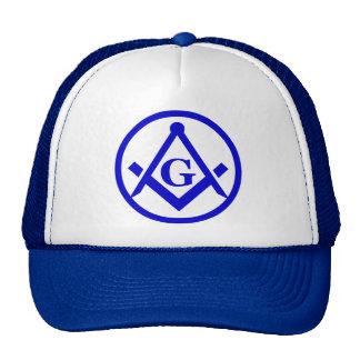 Cuadrado y compases gorra