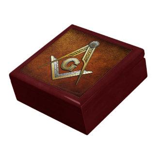 Cuadrado y compases masónicos cajas de joyas