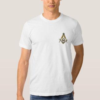 Cuadrado y compases masónicos camisas
