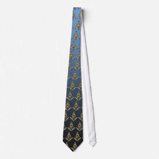 Cuadrado y compases masónicos corbata