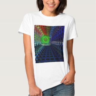 Cuadrados abstractos camisas