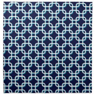 Cuadrados abstractos servilleta