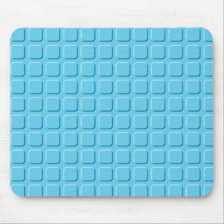 Cuadrados azules mousepads