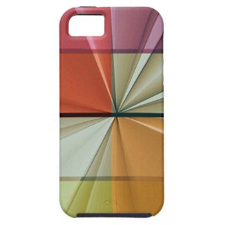 cuadrados coloreados ningunos 11 por Tutti iPhone 5 Cárcasa