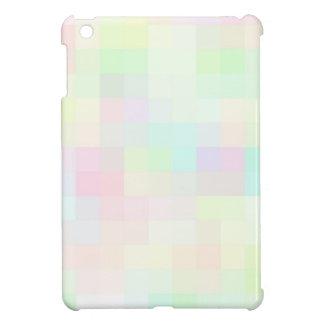 Cuadrados coloreados reconstruidos iPad mini cárcasas