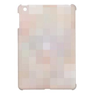 Cuadrados coloreados reconstruidos iPad mini carcasas
