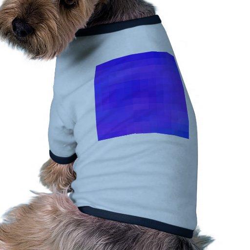 Cuadrados coloreados reconstruidos camisetas mascota