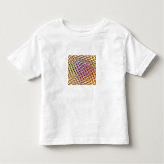 Cuadrados coloridos abstractos t-shirts