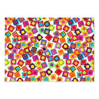 Cuadrados coloridos de la MOD