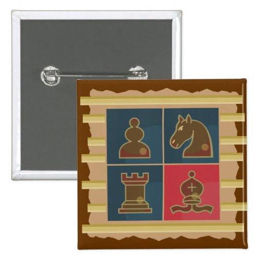 Cuadrados del ajedrez pin