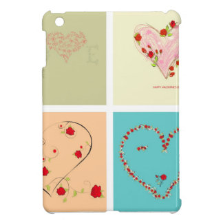 cuadrados del amor del amor iPad mini funda