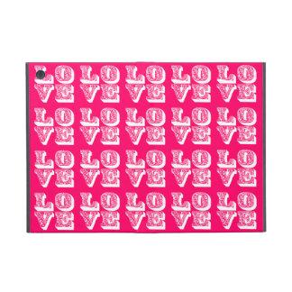 Cuadrados del AMOR iPad Mini Protector
