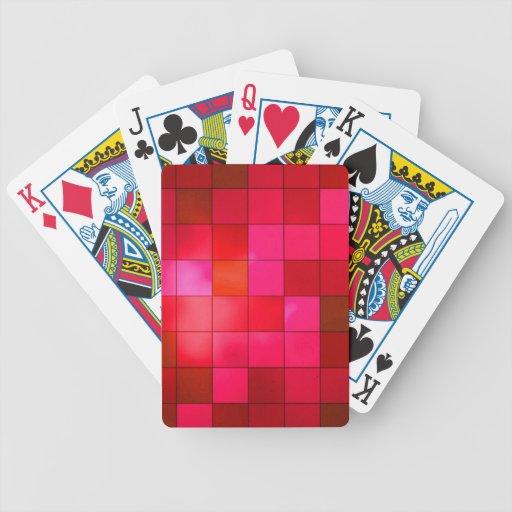Cuadrados del arándano baraja cartas de poker