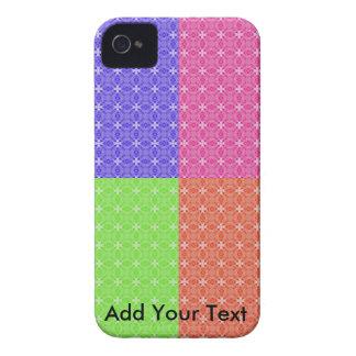 Cuadrados en colores pastel carcasa para iPhone 4