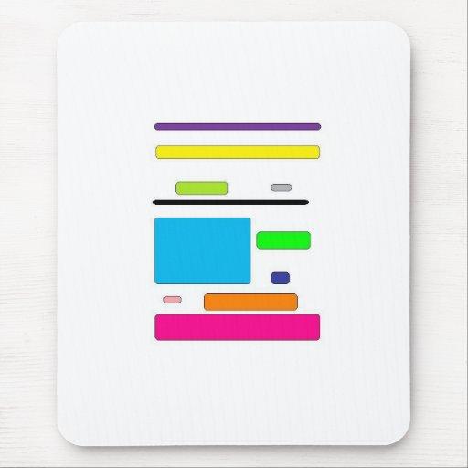 cuadrados mousepad