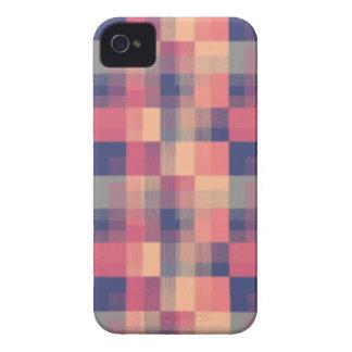 Cuadrados pálidos Case-Mate iPhone 4 coberturas