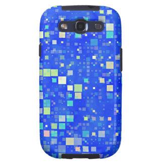 ¡Cuadrados retros! Samsung Galaxy S3 Funda