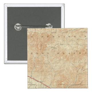 Cuadrilátero de Redlands que muestra la grieta de  Pin Cuadrada 5 Cm