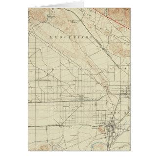 Cuadrilátero de San Bernardino que muestra la grie Tarjeta De Felicitación
