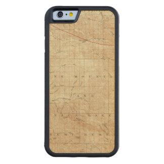 Cuadrilátero del Mt Pinos que muestra la grieta de Funda De iPhone 6 Bumper Arce