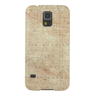 Cuadrilátero del Mt Pinos que muestra la grieta de Carcasa Para Galaxy S5