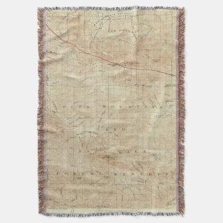 Cuadrilátero del Mt Pinos que muestra la grieta de Manta