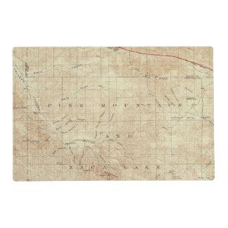 Cuadrilátero del Mt Pinos que muestra la grieta de Tapete Individual