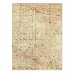 Cuadrilátero del Mt Pinos que muestra la grieta de Tarjeta Postal