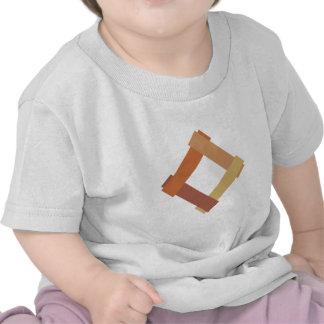 Cuadrilátero square camisetas
