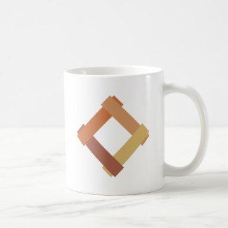 Cuadrilátero square taza