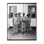 Cuadrilla de presos meridional 1900-1906 postal