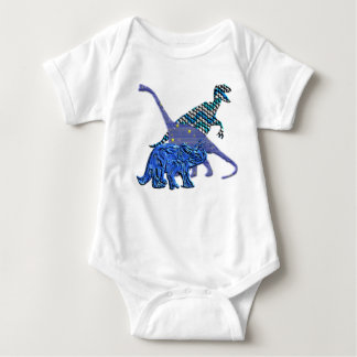 Cuadrilla del dinosaurio body para bebé