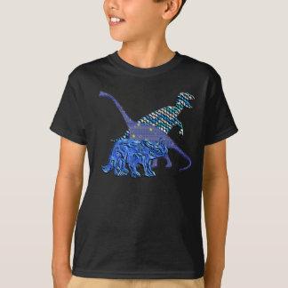 Cuadrilla del dinosaurio playera
