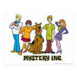Cuadrilla entera 12 Mystery Inc Postal