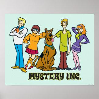 Cuadrilla entera 12 Mystery Inc Póster