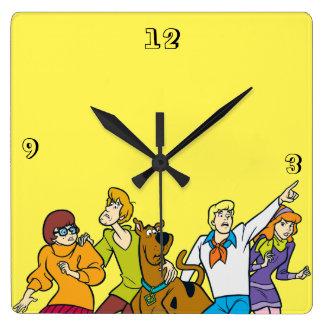 Cuadrilla entera 13 Mystery Inc Reloj Cuadrado