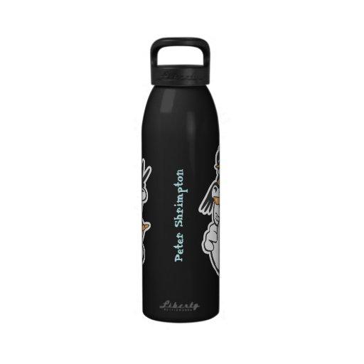Cuadrilla fresca botella de agua reutilizable