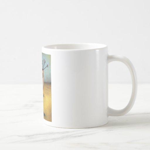Cuadro 1 del palillo taza de café