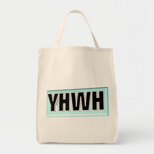 Cuadro 3D de YHWH Bolsa Tela Para La Compra