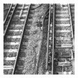 Cuadro de las pistas de ferrocarril anuncio
