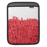 Cuadro del coral rojo funda para iPads