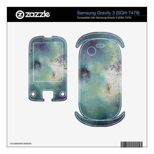 Cuadro del cosmos samsung gravity 3 calcomanía