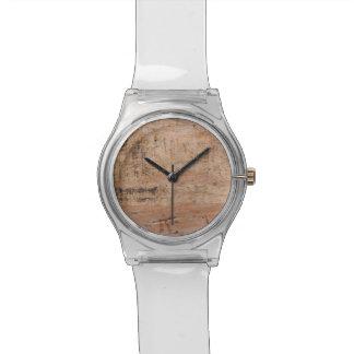 Cuadro del Driftwood Relojes De Mano