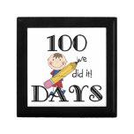 Cuadro del palillo 100 días cajas de regalo