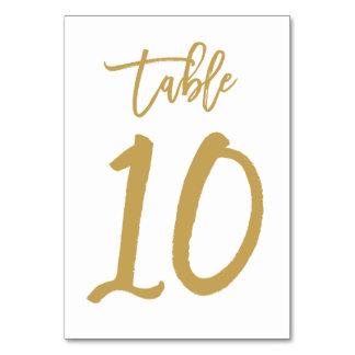 Cuadro indicado con letras 10 del oro el | del