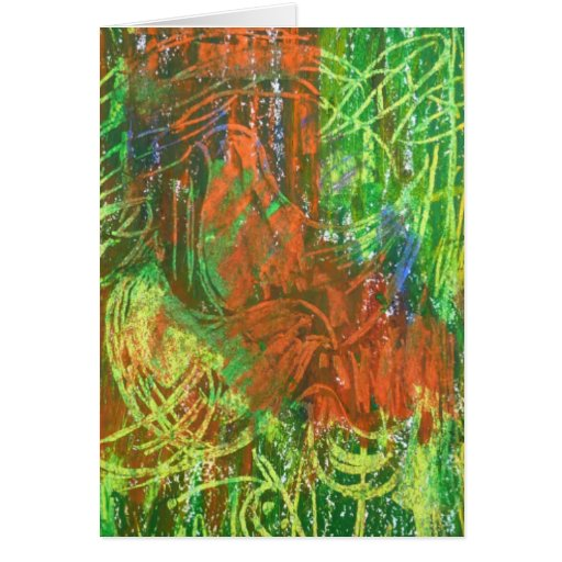 Cuadro tropical de los pájaros tarjeta de felicitación